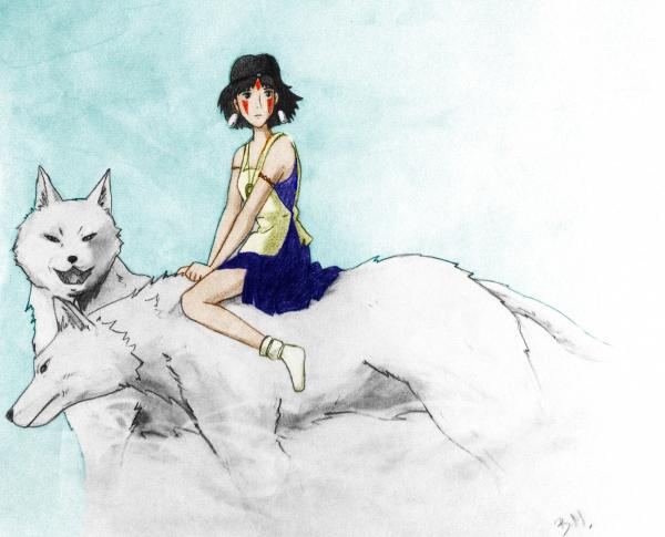 Princess Mononoke by dizisdee